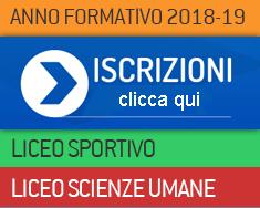 iscrizioni a.s. 2018-2019